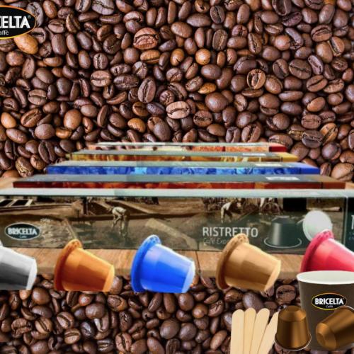 Kit 150 Capspresso Bricelta Café